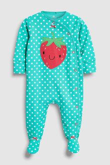 Next Strawberry Sleepsuit (0mths-2yrs)