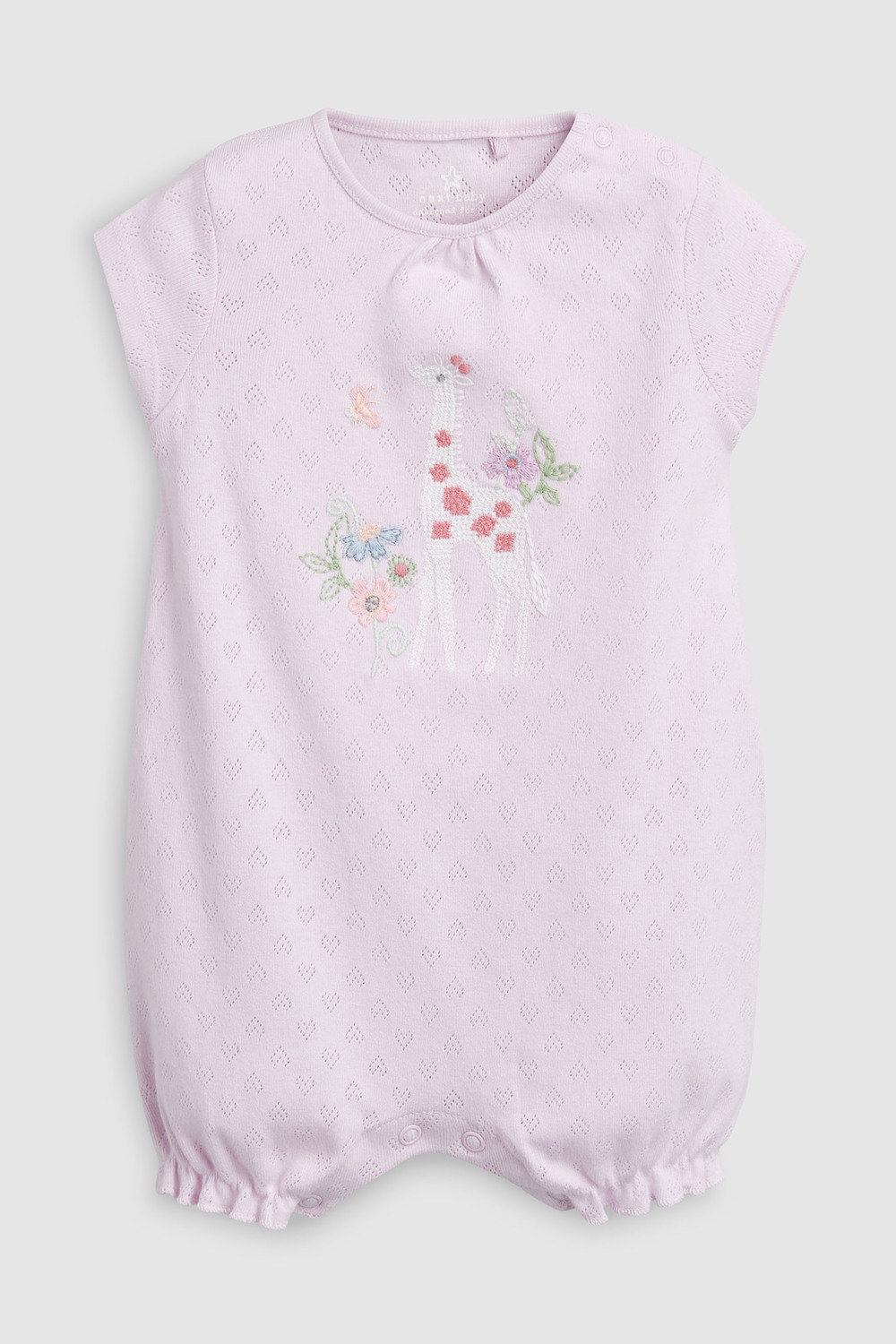 6dfe16b5fc9 Next Giraffe Embroidered Rompers Three Pack (0mths-2yrs) Online ...