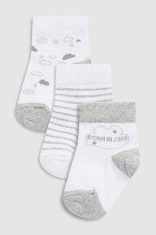 Next Born In 2019 Socks (Newborn)