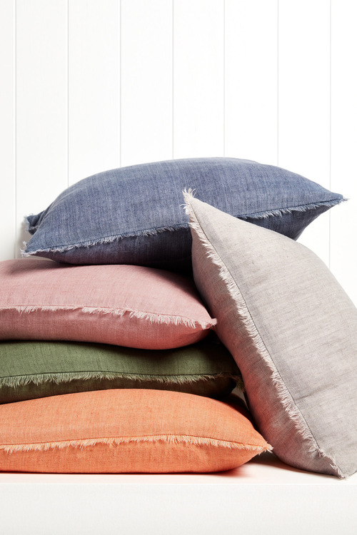 Fringe Linen Cushion