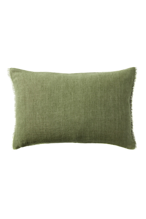 Fringe Linen Breakfast Cushion