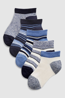Next Stripe Socks Five Pack (Younger)