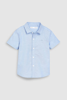 Next Short Sleeve Oxford Shirt (3mths-7yrs) - 228758