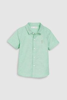 Next Short Sleeve Oxford Shirt (3mths-7yrs)