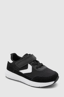 Next Elastic Lace Runner Trainers (Younger)