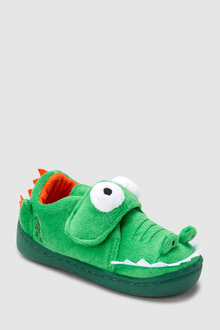 Next 3D Crocodile Slippers (Younger)