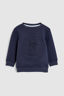 Next Embossed Crew (3mths-7yrs)