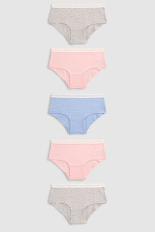 Next Spot Hipster Briefs Five Pack (2-16yrs)