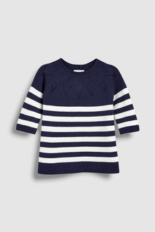 Next Stripe Knitted Dress (0mths-2yrs)