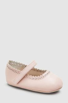 Next Brogue Mary Jane Pram Shoes (0-18mths)