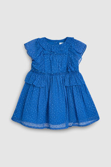 Next Chiffon Ruffle Dress (3mths-7yrs)