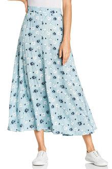 Emerge Midi Printed Skirt - 228875