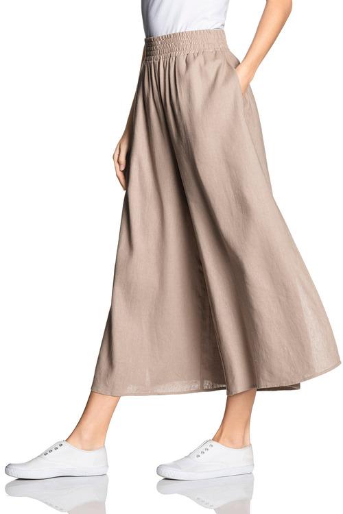 Emerge Linen Blend Culotte