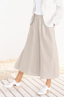 Emerge Linen Blend Culotte - 228882