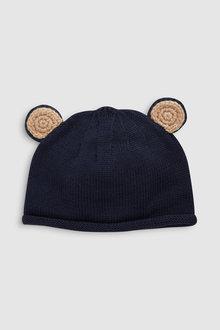 Next Knit Bear Ears Hat (0mths-2yrs)