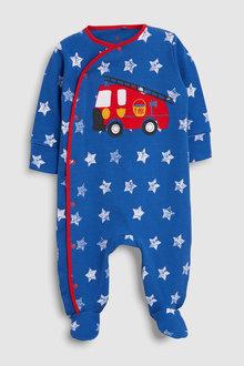 Next Fire Engine Sleepsuit (0mths-2yrs)