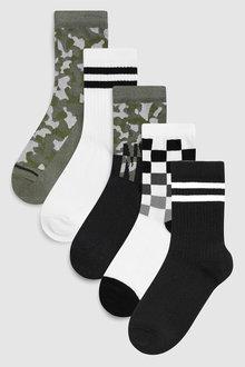 Next NYC Socks Five Pack (Older)