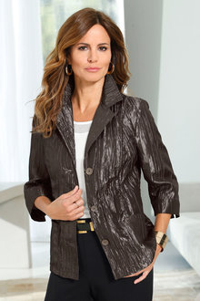 Capture European Crinkled Light Jacket - 228969