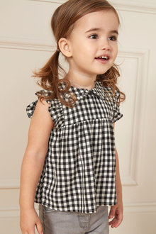 Next Tie Collar Blouse (3mths-7yrs)