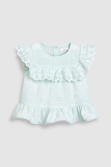 Next Broderie Frill Blouse (3mths-7yrs)