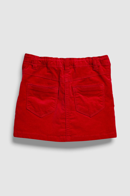 Next RED CORD SKIRT