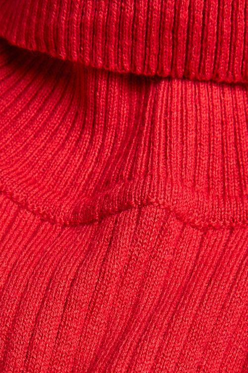Next Red Roll Neck Jumper (3mths-7yrs)