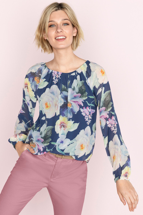 Capture Long Sleeve Blouse