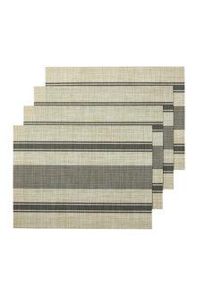 Alfresco Stripe Placemat Set of Four - 229216