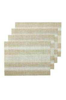 Alfresco Stripe Placemat Set of Four - 229216