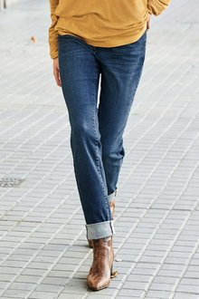 Next DARK BLUE RELAXED SKINNY JEANS - 229289