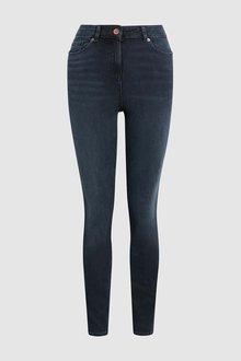 Next Inky Flex Bi-Stretch Skinny Jeans - 229293