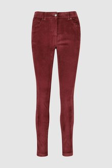 Next BERRY CORD SKINNY TROUSERS - 229317