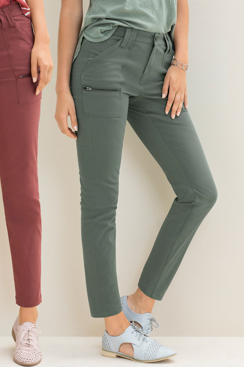 Emerge Zip Detail Skinny Pant