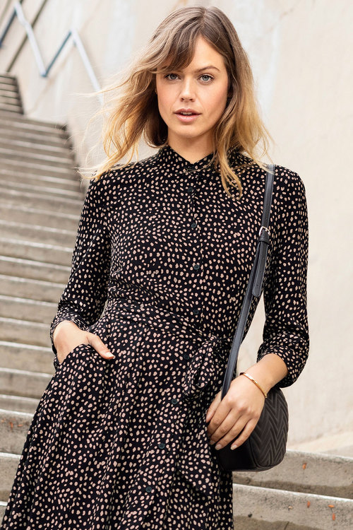 Emerge Midi Shirt Dress