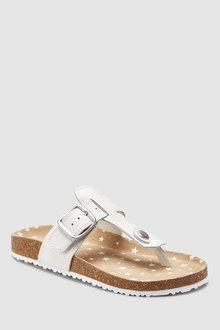 Next Toe Post Corkbed Sandals (Older)