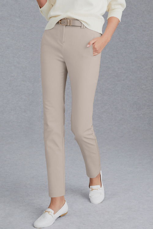 Grace Hill Signature Slim Leg Pant