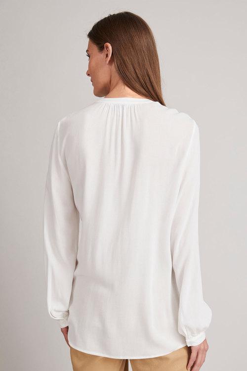 Grace Hill Pintuck Long Sleeve Blouse
