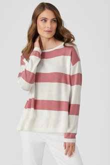 Emerge Stripe Sweater - 229492