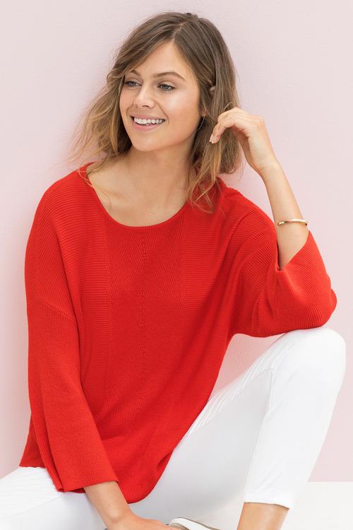 Emerge Panel Knit Sweater