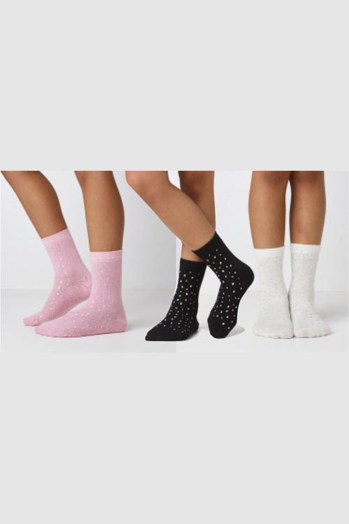 Next Sparkle Socks Three Pack (Older)