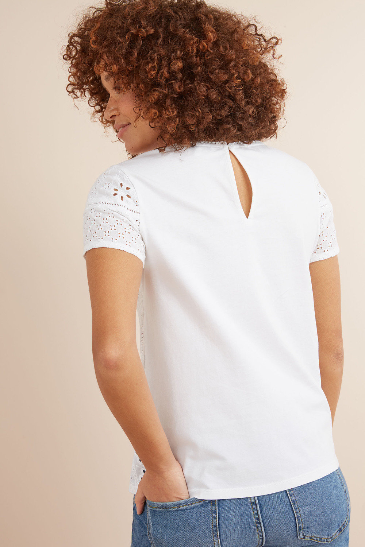 b78c35bea880 Next Broderie Front T-Shirt Online