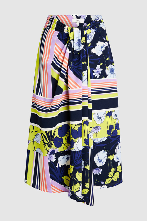 Next Scarf Print Skirt