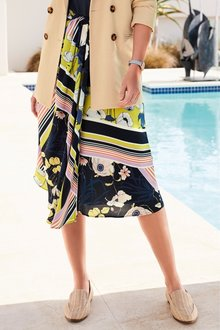 Next Scarf Print Skirt - 229675