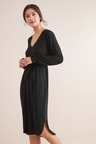 Next Belted Long Sleeve Dress