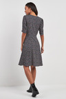 Next Ditsy Button Front Midi Dress