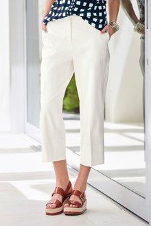 Next Twill Wide Leg Trousers - 229772