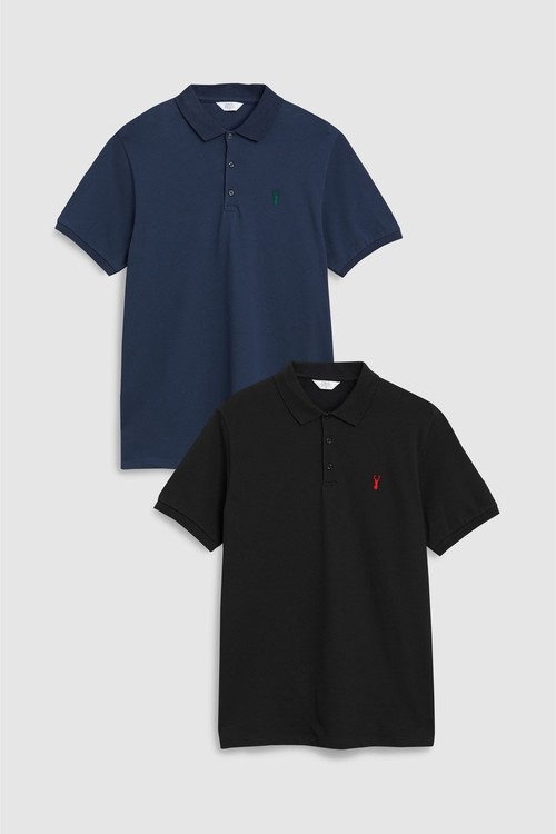 Next Polos Two Pack