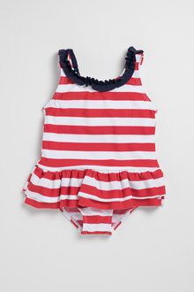Pumpkin Patch Young Girls Swimsuit Stripe - 229940