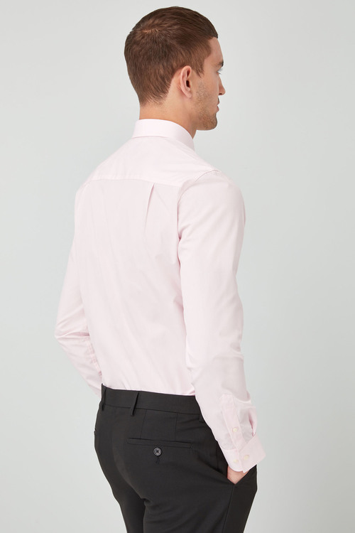 Next Easy Care Shirt- Regular Fit Single Cuff
