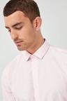 Next Easy Care Shirt- Regular Fit Single Cuff